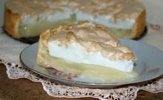 Лимонный пирог с безе - фото шаг 14