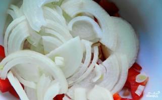 Куриный салат с перцем - фото шаг 2