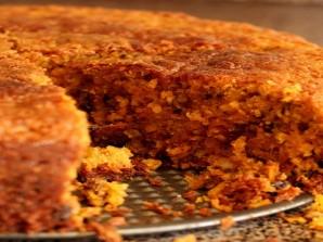 Диетический морковный торт - фото шаг 9