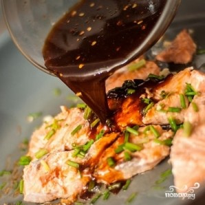 Паста с лососем - фото шаг 6