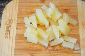 Курино-ананасовое карри по-тайски - фото шаг 8
