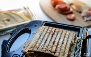Тосты в бутерброднице - фото шаг 3