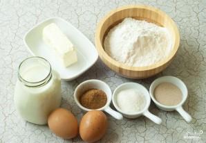 Открытый сливовый пирог - фото шаг 1