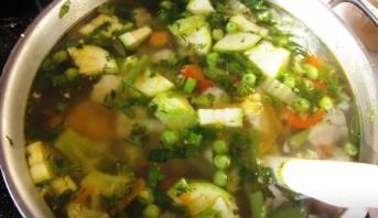 Овощной суп для худеющих - фото шаг 5