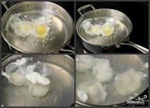 Яйца по-бенедиктински - фото шаг 2