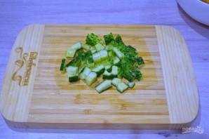 Шопский салат - фото шаг 2