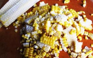 Суп с курицей и кукурузой - фото шаг 4