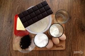 Шоколадный чайный пирог - фото шаг 1