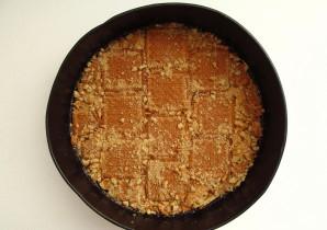 Творожно-малиновый торт - фото шаг 6