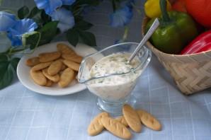 Кефирный соус с зеленью - фото шаг 4