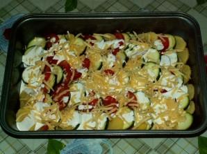 Кабачки с картошкой и помидорами - фото шаг 5