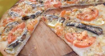 Пицца со шпротами - фото шаг 3