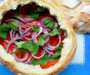Бутерброды на пикник на природе - фото шаг 4