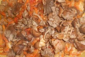 Мясное ассорти с грибами - фото шаг 4