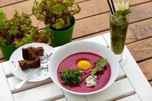 Суп со свеклой и щавелем - фото шаг 11