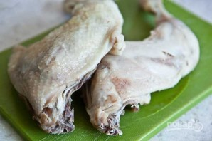 Столичный салат с курицей - фото шаг 1