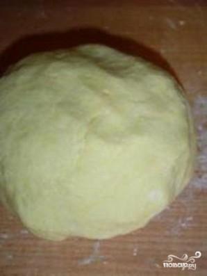 Песочные корзинки с йогуртовым кремом - фото шаг 1