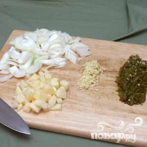 Суп с говядиной и зелёным чили - фото шаг 1