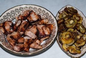 Шашлык из свинины с киви - фото шаг 5