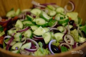 Салат из грудок - фото шаг 4