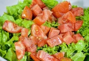 Салат с моцареллой - фото шаг 2