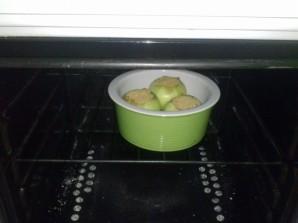 Запеченное яблоко с карамелью - фото шаг 6