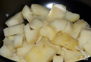 Салат куриный с ананасами - фото шаг 4
