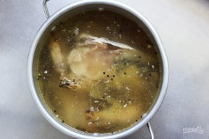 Диетический куриный бульон - фото шаг 5