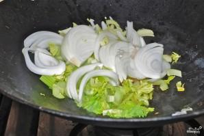 Лапша с овощами в воке - фото шаг 2