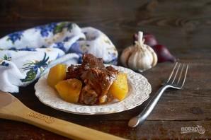 Молья де карне (португальское мясное рагу) - фото шаг 8