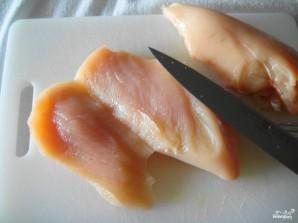 Кусочки куриного филе в кляре - фото шаг 1