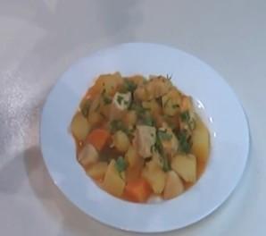 Рагу с овощами и курицей - фото шаг 6