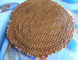 Вафельный торт без выпечки - фото шаг 2