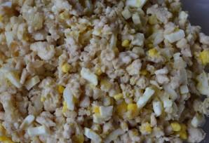 Блинчики с фаршем и яйцом - фото шаг 4