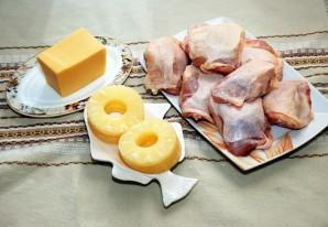 Курица с ананасами и сыром - фото шаг 1