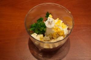 Закуска из плавленого сырка - фото шаг 4