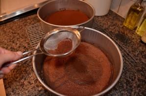 Шоколадный воздушный торт - фото шаг 9