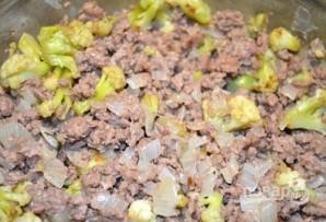 Открытый мясной пирог с картофельным тестом - фото шаг 6