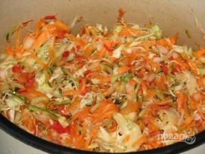 Салат капустный на зиму - фото шаг 7