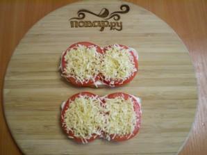 Бутерброды с сыром и помидорами - фото шаг 6