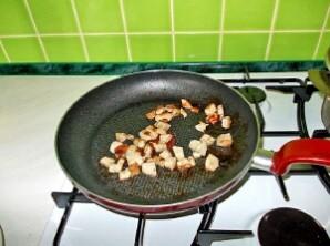 Суп грибной с мясом - фото шаг 1