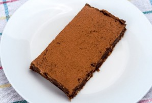 Шоколадный брауни без выпечки - фото шаг 4