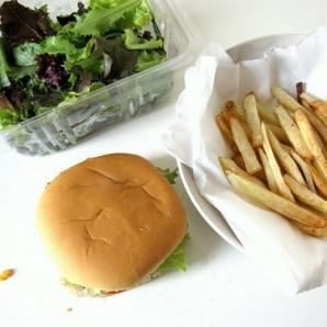 Вегетарианский бургер - фото шаг 15