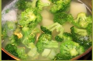 Пюре картофельное с брокколи - фото шаг 3