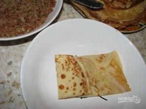 Тесто для блинов с мясом - фото шаг 6