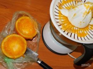 Свинина в горчично-имбирном маринаде с апельсинами - фото шаг 3