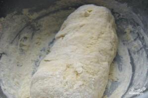 Пицца с копчёной колбаской - фото шаг 3