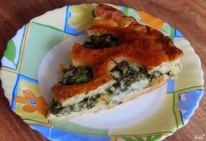 Пирог с моцареллой - фото шаг 7