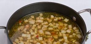 Суп в хлебе по-польски - фото шаг 6