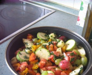 Рататуй с картошкой - фото шаг 4